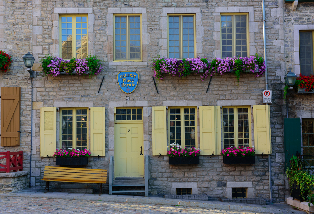 The Doors and Windows of Quebec City